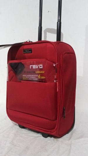 "Revo Underseat Bag 18"" Rolling wheels Luggage for Sale in West Chicago, IL"