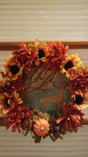 "Handmade ""Fall"" Wreath for Sale in Harrisonburg, VA"