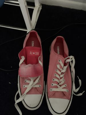 Double tongue Pink Converse for Sale in Westland, MI