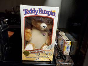 Original Teddy Ruxpin still in the box for Sale in Affton, MO