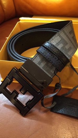 Fendi Black FF Belt *Authentic* for Sale in Queens, NY