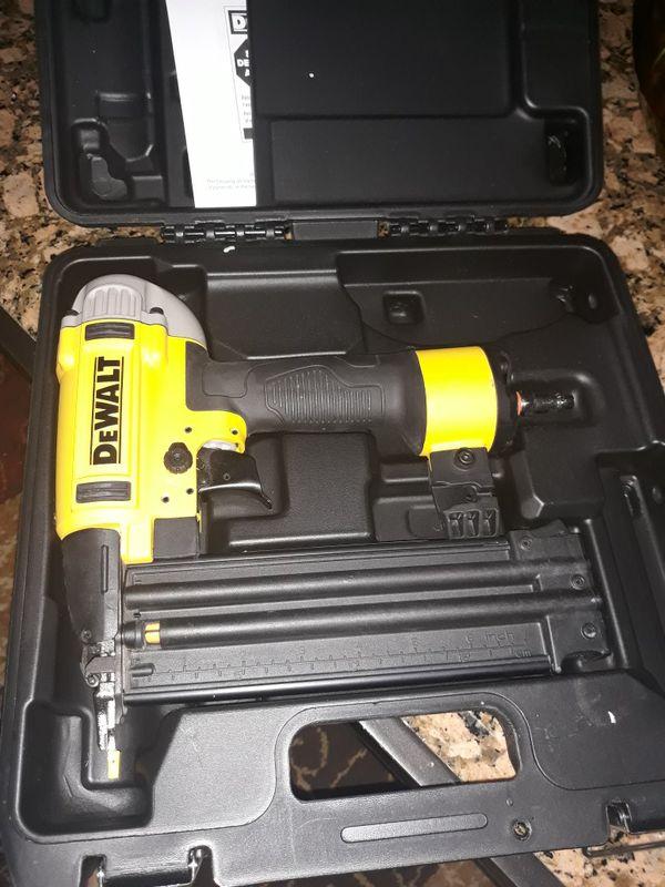 Dewalt nail gun 18 gauge