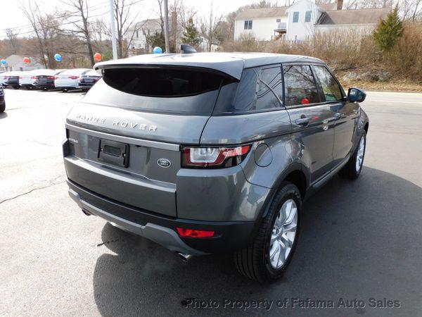 2019 Land Rover Range Rover Evoque