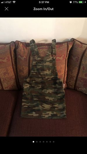 New! Forever 21 Camouflage Overall Dress Small for Sale in Stonecrest, GA