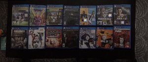 Ps4 games for Sale in Fall River, MA