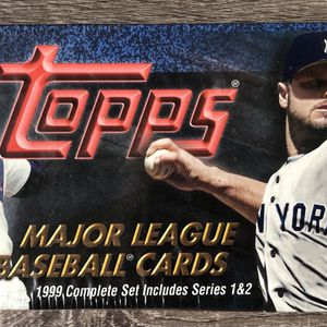1999 TOPPS BASEBALL COMPLETE SET !! FACTORY SEALED AND BRAND NEW !!- 462 cards for Sale in Tampa, FL
