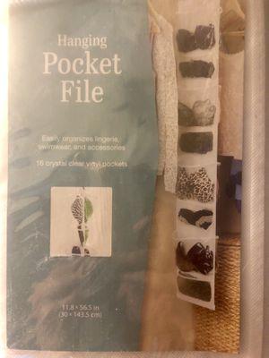2 hanging closet pocket holders for Sale in Denver, CO