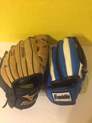 Youth Baseball Gloves Reduced to $10! for Sale in Austin, TX