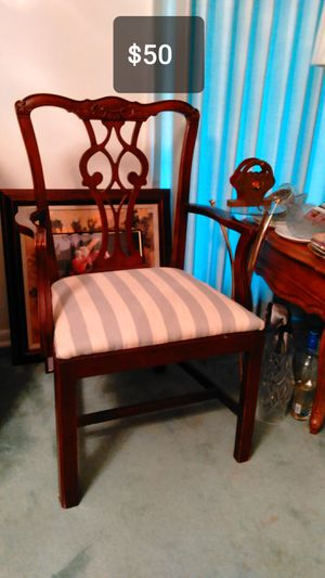 mahogany Dining chairs antique for Sale in North County, MO