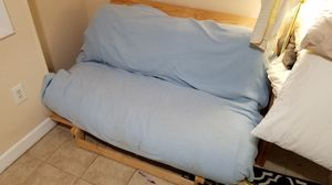 Pull out futon, light and easy with mattress for Sale in Springfield, VA