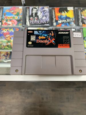 Castlevania Dracula X $250 Gamehogs 11am-7pm for Sale in Commerce, CA
