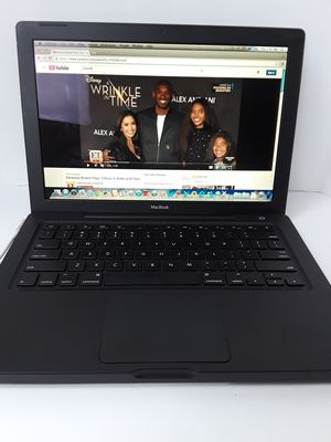 """Macbook Black Apple laptop 13""""inches with Office installed for Sale in Silver Spring, MD"""