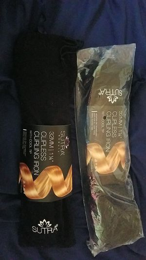 Sutra Beauty Clipless Curling Iron With Cool Tip for Sale in Long Beach, CA