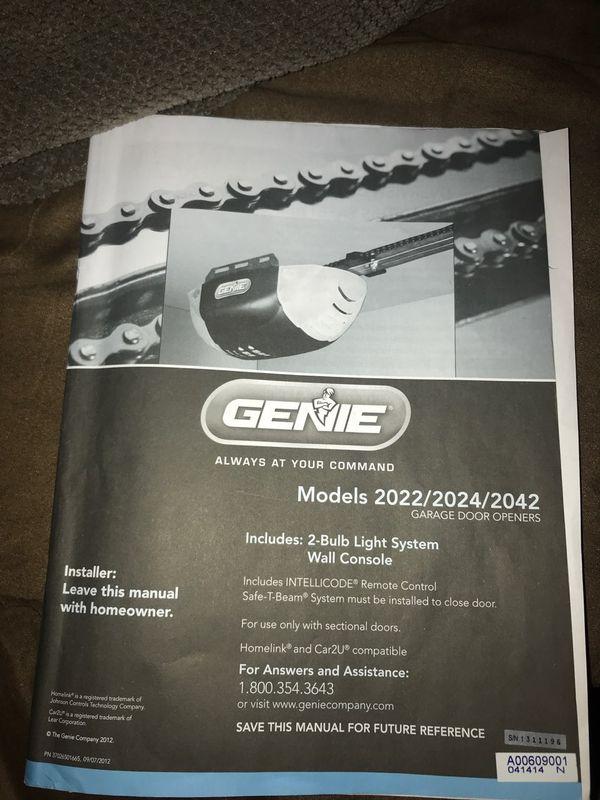 Genie Garage Door Opener