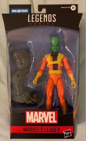 Marvel Legends Leader Collectible Action Figure Toy with Abomination Build a Figure Piece for Sale in Chicago, IL