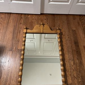 Antique Fancy Wooden Mirror for Sale in Washington, DC