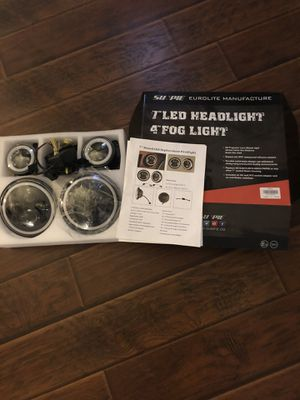 Jeep LED Headlights for Sale in Arcola, TX
