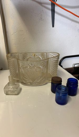 Antique glass pieces for Sale in Livermore, CA