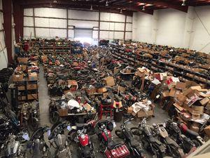 Tons Of Motorcycle Parts VSTAR 650 1100 Shadow Honda Kawasaki Suzuki Yamaha Ducati Triumph BMW for Sale in Fontana, CA