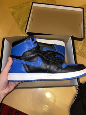 Jordan 1 retro (royal blue 2017) original box for Sale in Red Oak, TX