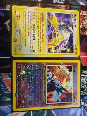 Pokemon Entei (2001) and Raikou (2007) for Sale in Orange, CA