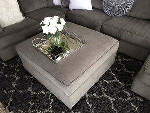 Large Mirrored Tray ottoman Table Decor for Sale in Corona, CA
