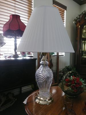 Set glass large lamps for Sale in Las Vegas, NV