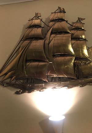Beautiful Sailboat decoration. for Sale in Dedham, MA