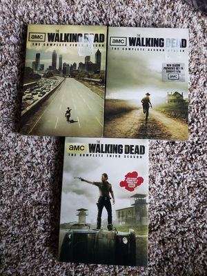 SEALED The Walking Dead Seasons 1-3 for Sale in Silver Spring, MD