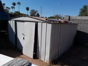 Metal storage shed you haul away for Sale in Mesa, AZ