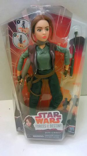 Star Wars Forces of Destiny Jyn Erso Action Figure for Sale in Providence, RI