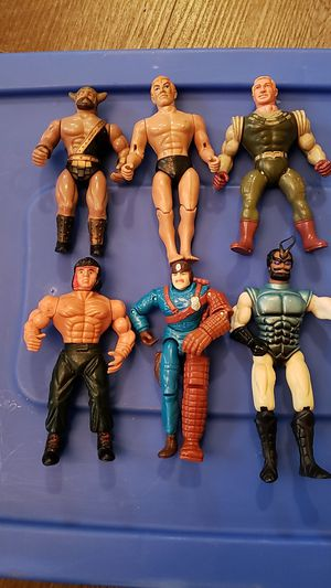 Vintage 1980's action figures,rambo,cops n crooks,sectaurs for Sale in Pataskala, OH