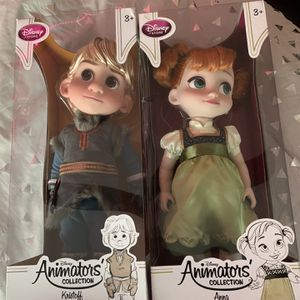 Anna And kristolf Collector Dolls for Sale in Santa Maria, CA