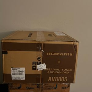 Marantz AV8805 Open Box Flagship 4K Atmos Auro-3D DtsX Home Theater Preamp Processor for Sale in Phoenix, AZ