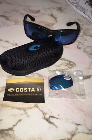 COSTA POLARIZED GLASS 580 W/ CASE AND NEW LENSES for Sale in Dothan, AL