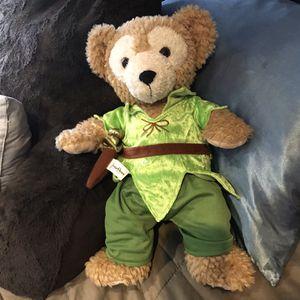 Authentic Disney Plush Peter Pan Teddy Bear for Sale in Marlboro Township, NJ
