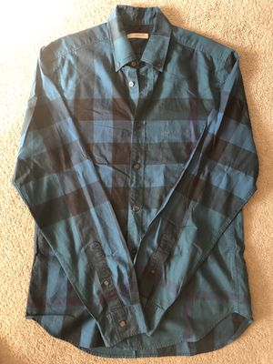 Burberry Brit men's S nova check shirt for Sale in Portland, OR
