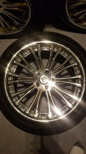 20 inch ashanti rims and tires for Sale in New York, NY