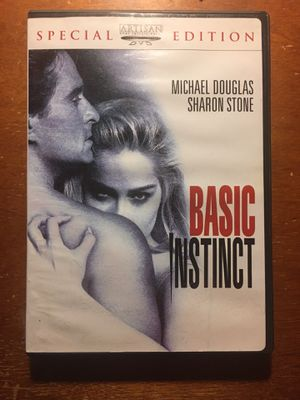 Basic Instinct- Michael Douglas Sharon Stone - Movie DVD for Sale in Harrodsburg, KY