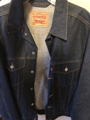 507 Levis Large demin jacket for Sale in Las Vegas, NV