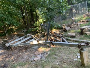 16 ft tilt boat trailer needs tires and lights for Sale in Avon, MA