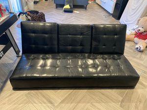 Leather futon for Sale in Phoenix, AZ
