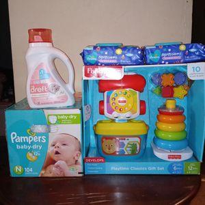Pampers Nb Baby bundle for Sale in Philadelphia, PA