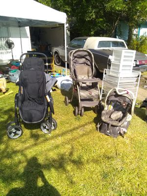 Stroller and carseats for Sale in Grand Prairie, TX