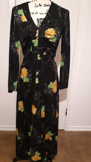 Vintage 70's Long Cocktail Gown for Sale in Deer Park, TX