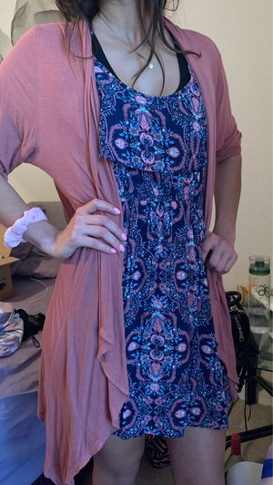 Forever21+ Long Sleeve Cardigan - Dusty Rose for Sale in Orlando, FL