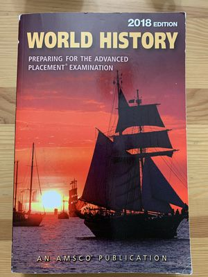 AMSCO World History Book for Sale in Washington, DC