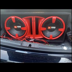 Jbl 1000 W for Sale in Pikesville, MD