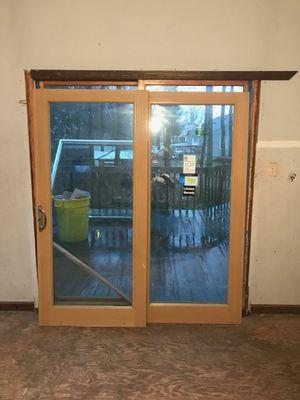 6 foot sliding glass door for Sale in Trenton, NJ
