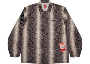 Supreme x The Northface Snakeskin taped seam coat(worn once) for Sale in South San Francisco, CA